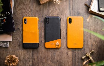 iPhone X 皮革手機殼