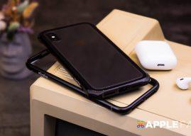 就要這樣的質感!iPhone X 專用 Elpaka 金屬保護殼 開箱