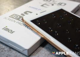iPhone 8/8 Plus  專用 imos 3D 滿版玻璃保護貼!真正的康寧,就在 imos!