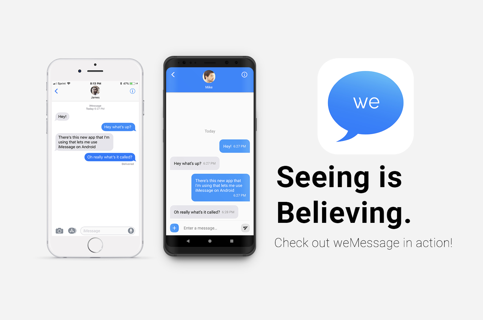 iMessage Android 版