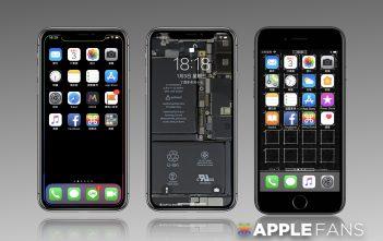 iPhone X 桌布