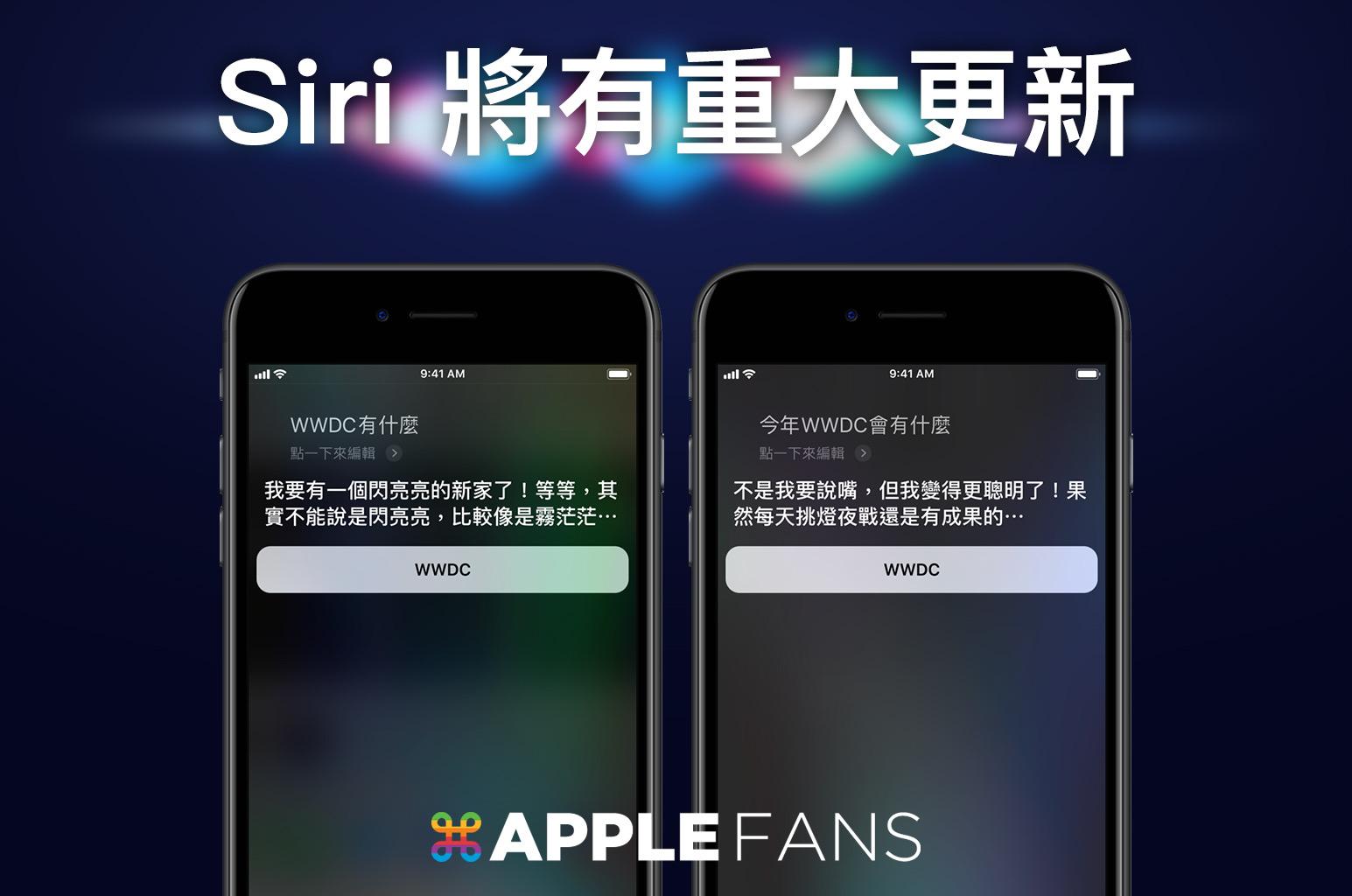 WWDC Siri