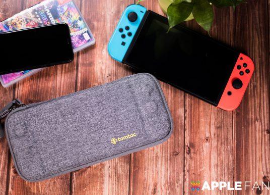 Tomtoc 又一超高 CP 值產品:玩家首選 Switch 防水攜帶包