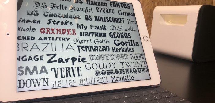 iOS 換字體 靠這招! FondFont 讓你各種字型一次搞定!