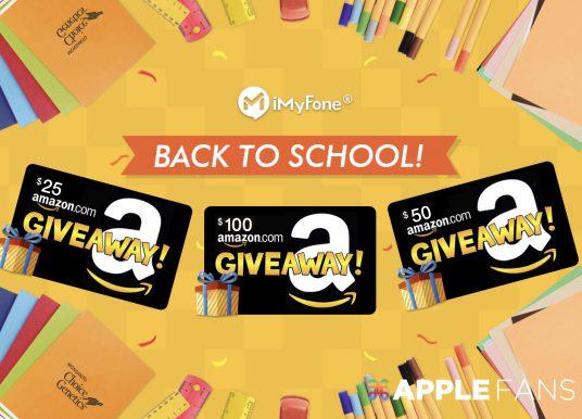 iMyFone Back To School 活動開跑!免費抽 100 美元的 Amazon 禮品卡,還有更多優惠等著你拿
