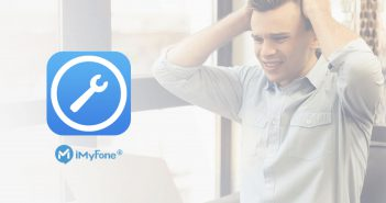 iMyFone iOS 系統修復工具 ,三個步驟修復黑屏死機的 iPhone