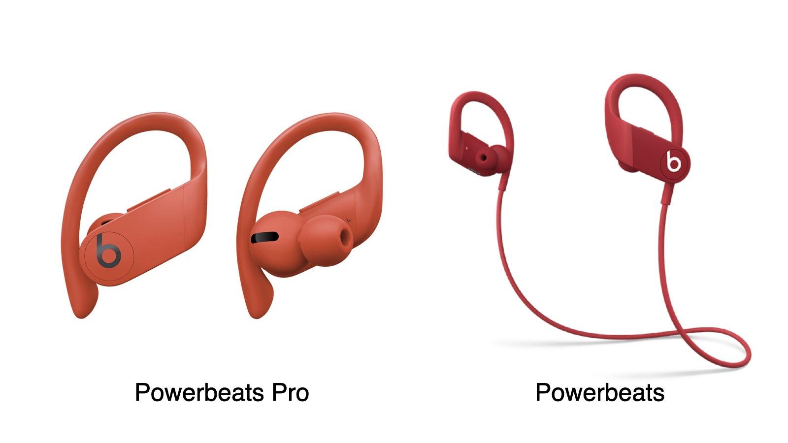PowerbeatsPro 和 Powerbeats