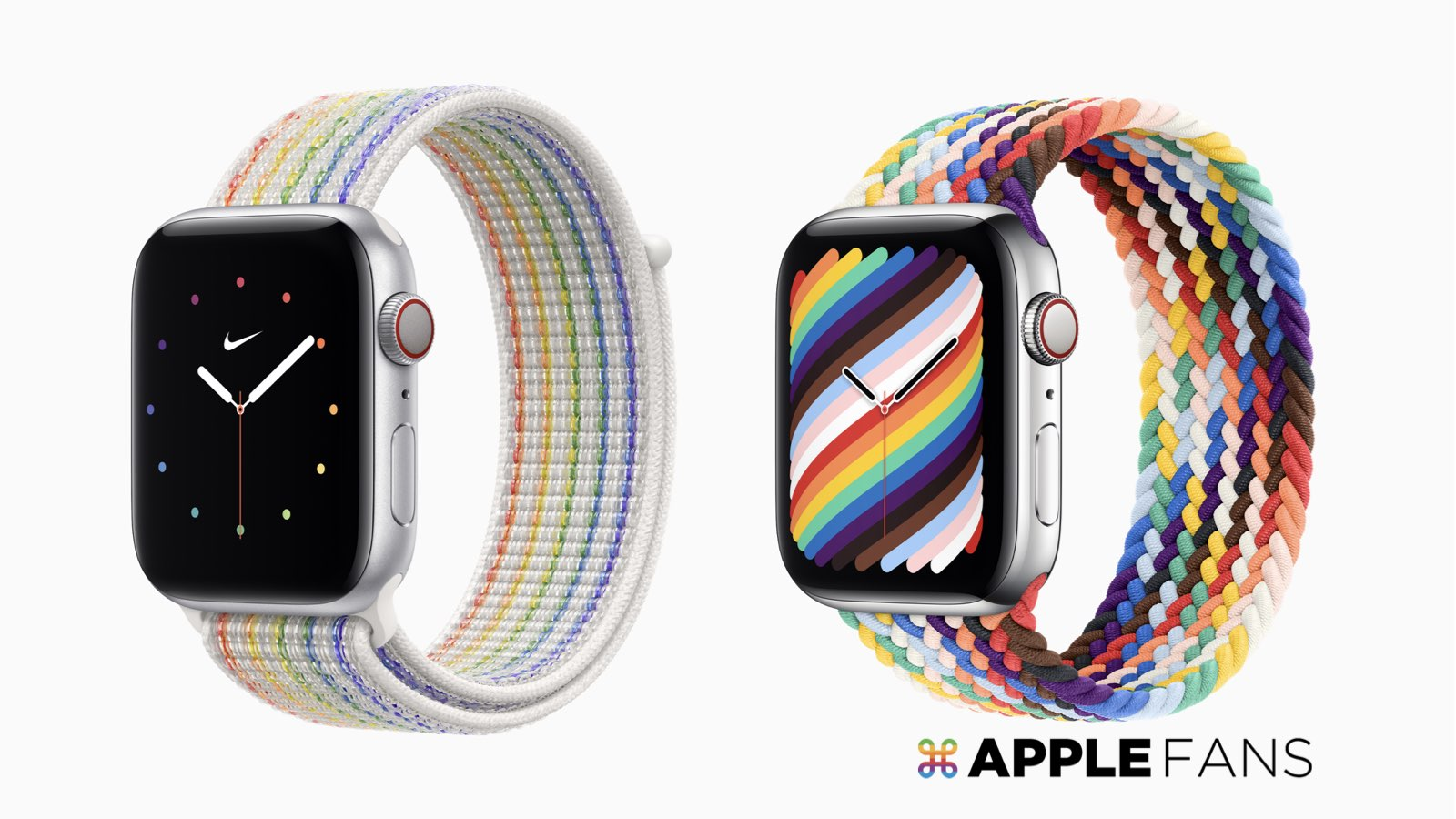 Apple 全新彩虹錶帶