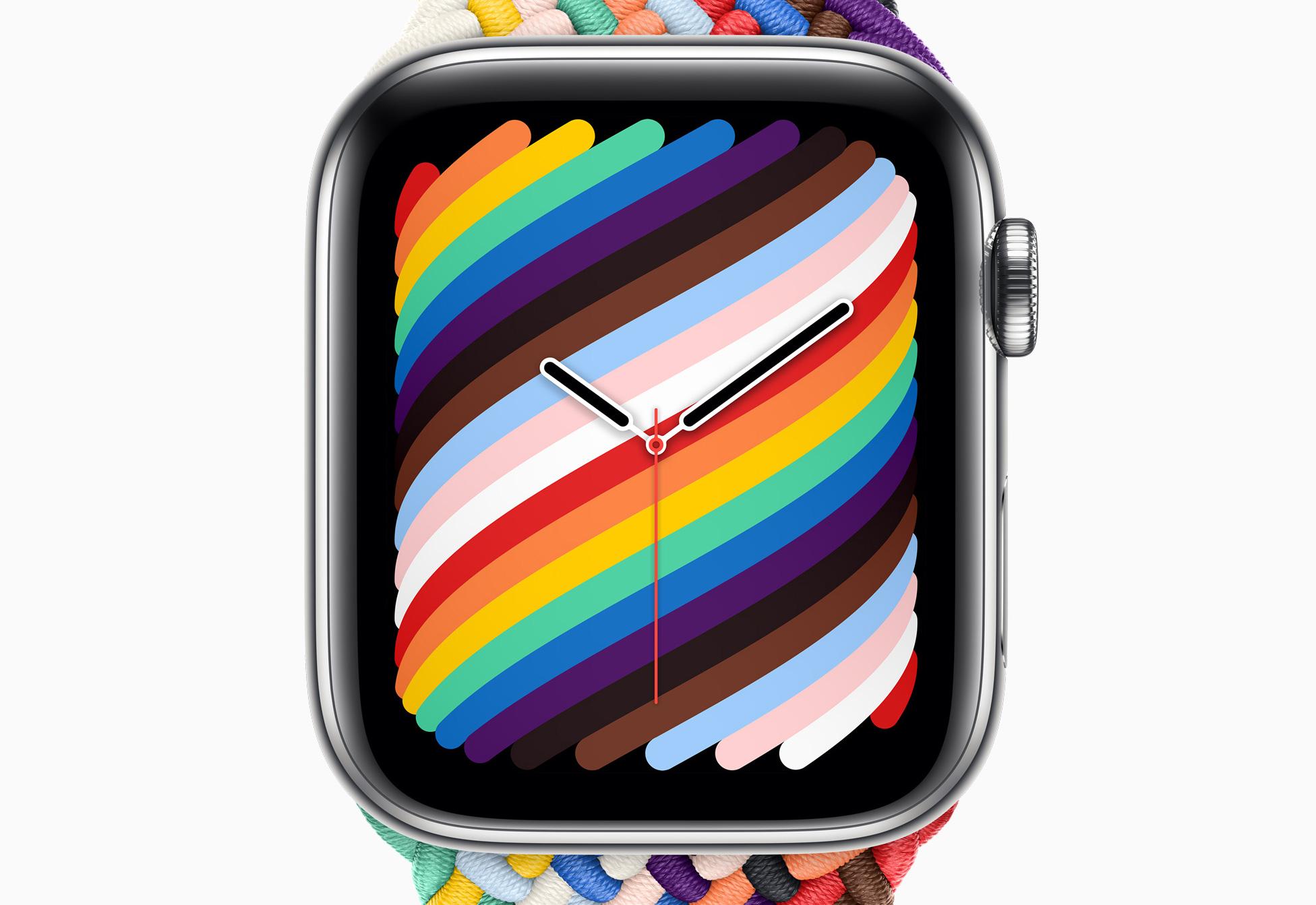 2021 年彩虹版錶面