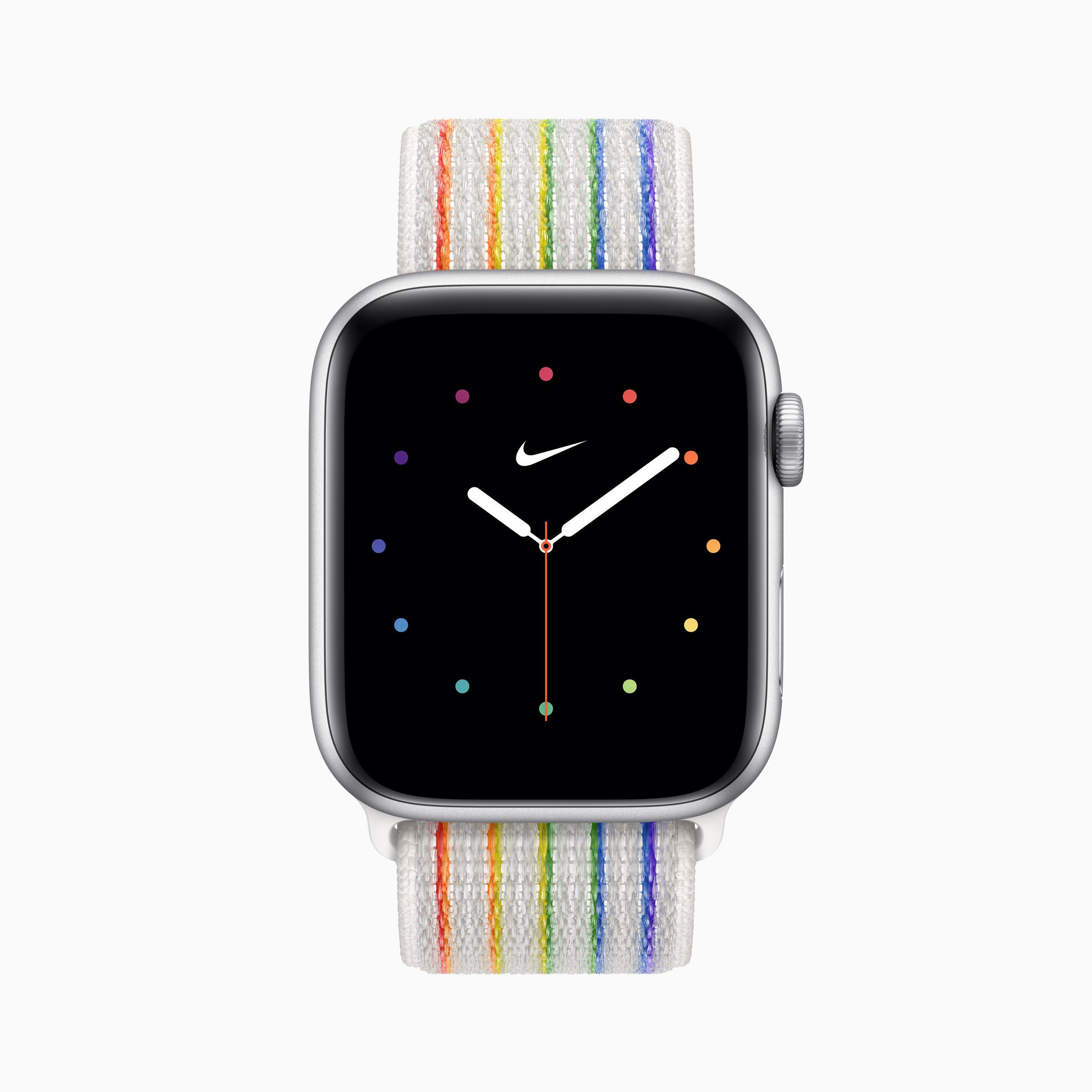 Apple 彩虹版 Nike 運動型錶環