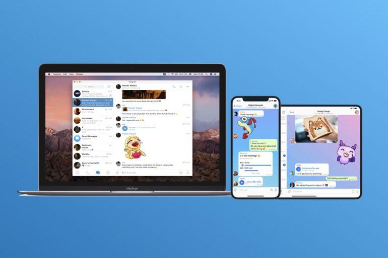 Telegram 群組視訊通話