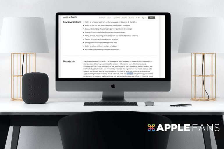 Apple homeOS