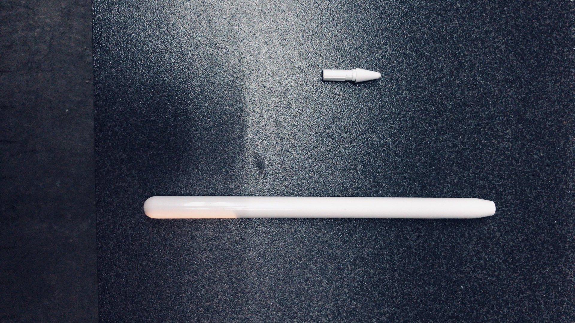 Apple Pencil 洩漏圖