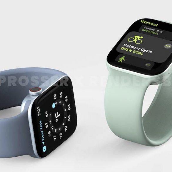 Apple Watch Series 7 尺寸