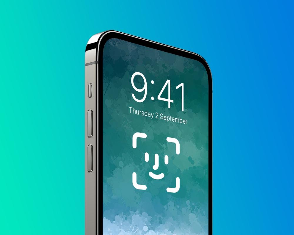 iPhone 螢幕下 Face ID