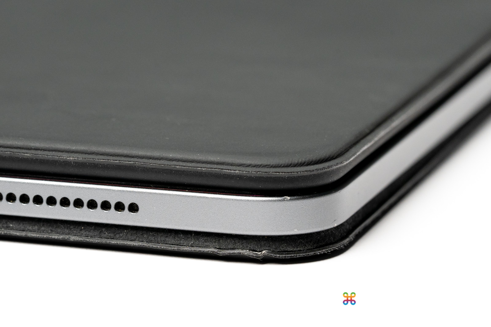 iPad 的邊角受傷了