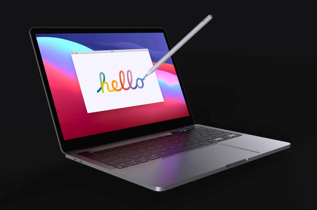 macbook pro apple pencil