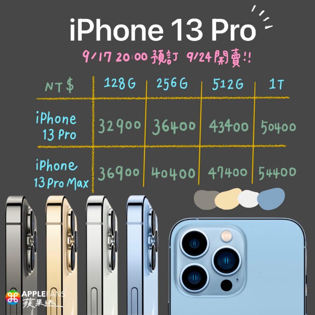 iPHone 13 售價