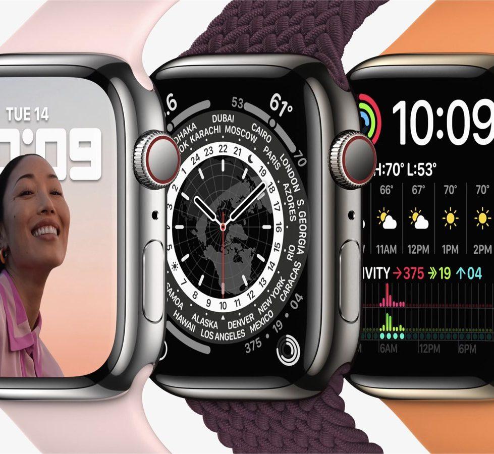 Apple Watch series 7 開賣